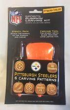 Pittsburgh Steelers Pumpkin Carving Kit Halloween Stencils for Jack-O-Lantern