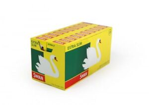 Swan extra slim filter tips 120's 20 boxes in case