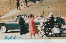 More details for mary ann moorman john f kennedy jfk assassination witness signed 6x4 inch photo