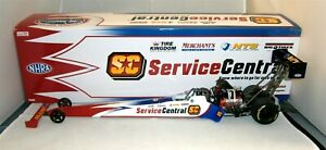 1:24 2011 AUTO WORLD RC2 NHRA TOP FUEL DRAGSTER SERVICE CENTRAL DOM LAGANA 1/750