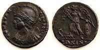Imperio Romano-Constantino I (272-337 d.C) Follis. Siscia (Croacia) Cobre 2,6 g.