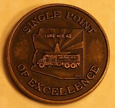 POL Luke AFB AZ Single Point of Excellence Air Force Challenge Coin