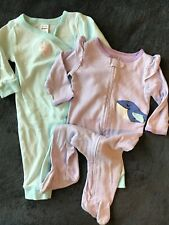 baby girl clothes Sleepers Lot Size 6 Month