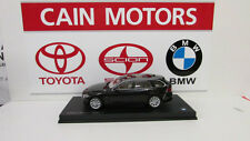 BMW 3 series F31 Touring    Black Sapphire 1/18th    Factory BMW Diecast