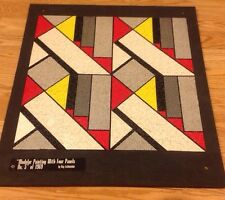 Roy Lichtenstein Modular Painting With Four Panels No 5 In 1969 Puzzle On Board