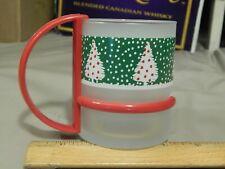 Ho! Ho! Ho! Merry Christmas or Happy Holidaze ~ Glass Xmas Mug ~ Ocean Glassware