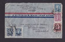 China 1947 Airmail Cover Shanghai to London GB Rate $4,900
