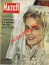 Paris Match n°421 du 04/05/1957 Jordanie Hussein Maria Schell Mao scooter