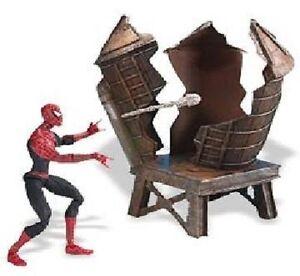 Spider-Man Twist N' Shoot Spider-Man Figure Year Made 2004