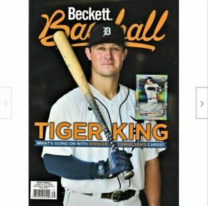 New April 2021 Beckett Baseball Card Price Guide Magazine With Spencer Torkelson