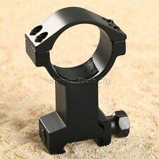 Tactical 30mm Scope Mount Ring High Mount Base for 20mm Rail Rifle Scope Hunting