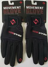 GEARBOX MOVEMENT RACQUETBALL GLOVE RIGHT HAND X-LARGE 2 GLOVES NEW