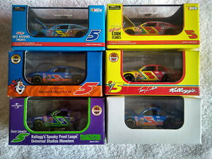 Mixed Lot of SIX Revell Collection 1/64 Terry Labonte #5 Kellogg's Chevrolet