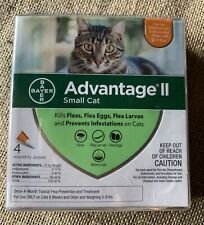 Advantage II For Cats 5-9 lbs - 4pk- EPA APPROVED / FREE SHIPPING!!