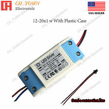Constant Current LED Driver 20W 12-20X1W DC 30-68V 300mA Lamp Bulb Power Supply