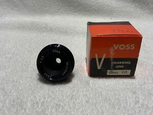 VOSS/BOGEN/ LEICA 39mm Screw Mount Enlarging Bellows Lens 25mm F3.5 New Japan