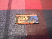 STAR WARS Wrapper Chewing Bubble GUM SPAIN SPANISH PANINI TATTOOS CARD SEALED