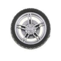 40x Hard 30mm 5-Spoke RC Car Wheel Tires & Wheel Rims Set Toy Car DIY Parts