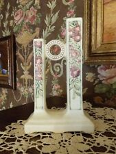 "Vintage Weller Pottery Roma Double Bud Vase, 8"""