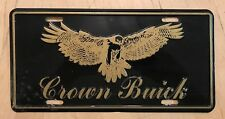 CROWN BUICK FRONT BOOSTER LICENSE PLATE ENCLAVE VERANO LACROSSE WISCONSIN