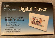 """SHOMI 7"""" Screen DIGITAL PLAYER Show Off Your DIGITAL PICTURES"""