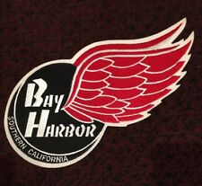 "Bayharbor Redwings Youth Hockey Jersey Logo Patch 12"" X 5.5"" USA Hockey"