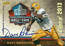 "DAVE ROBINSON SIGNED 2013 PANINI HALL OF FAME ""BLACK FRIDAY"" ENSHRINEMENT CARD"