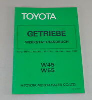 Workshop Manual Toyota Gearbox W45/55 For Celica By 08/1980
