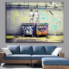 "NEW Street Art Print Canvas Quality Graffiti Large Banksy Andy Baker A1 24""x36"""