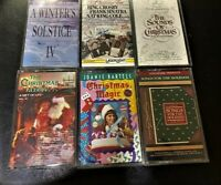 Lot of Christmas CASSETTES  Classics - Bing, Sinatra, Nat King Cole, and more!