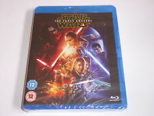 Star Wars: The Force Awakens (2016) 2 Disc Set - NEW / SEALED GENUINE UK BLU-RAY