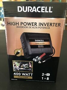 DURACELL DRINV400 400w DC TO AC HIGH POWER INVERTER BRAND NEW