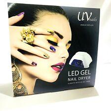 UV-Nails LED Lamp Dryer and GEL Nail Polish Set Delicious