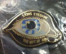 Lions Club Eyebank The Gift of Sight pin