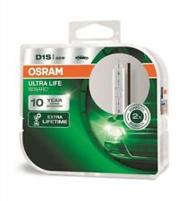 2 x D1S OSRAM ULTRA LIFE LAMPADINA XENON XENARC NUOVO 66140ULT HID Hard Case (TWIN)