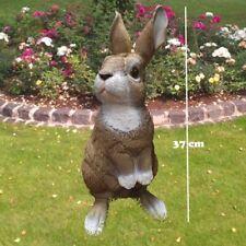 Gartenfiguren 2-er Set Hase 8354//11218 Osterhase Garten Deko Ostern lebensecht