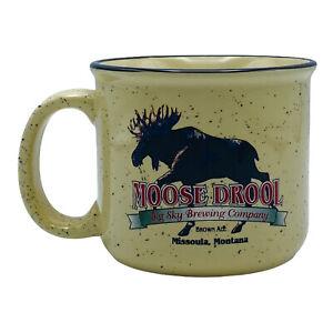 Moose Drool Coffee Mug Big Sky Brewing Co Missoula MT Beer Brown Ale