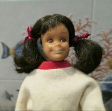 Vintage Barbie Doll Skipper Friend Brunette Skooter Head Only #1040 Mattel 60s