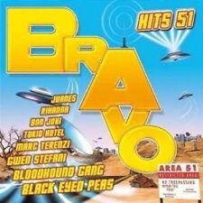 BRAVO HITS VOL.51 2 CD CHIPZ TOKIO HOTEL US5 UVM NEW!!!!