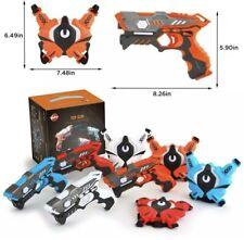 Vatos Infrared Laser Tag Guns Set with Vests 4 Player, Game Set for Kits& Adults