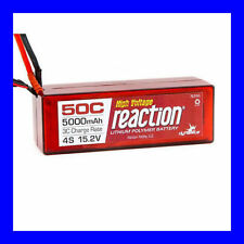 Dynamite Reaction 15.2V 15.2 HV 5000mah 50C 4S Lipo Hardcase EC5 Blue Connector
