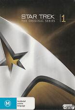 STAR TREK Original Series Season 1 Brand New but UNSEALED Region 4