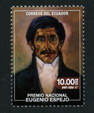 Ecuador 2017 Eugenio Espejo Gemälde Schriftsteller Arzt Jurist Postfrisch MNH