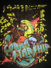 Size Large Colorful Snake King Cobra StarShip Black comfy T-Shirt Size L New