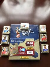 Panini World Cup 2018 Gold Edition Hardcover Collectors Box with full set