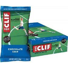 Clif Bar Energy Bars - Cliff Bars Box Of 12 X 68g Bars Chocolate Chip