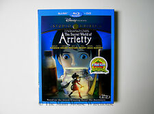 The Secret World of Arrietty Arietty Arriety Blu-ray The Borrowers No Slipcover