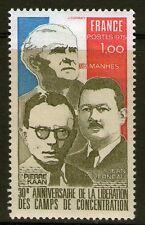 TIMBRE 1853 NEUF XX LUXE - PIERRE KAHN F.H. MANHES ET LE GENERAL JEAN VERNEAU