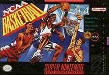 NCAA Basketball (Super Nintendo Entertainment System, 1992) Game Only