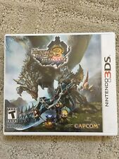 NINTENDO 3DS MONSTER HUNTER 3 ULTIMATE GAME NEW In SEALED CASE